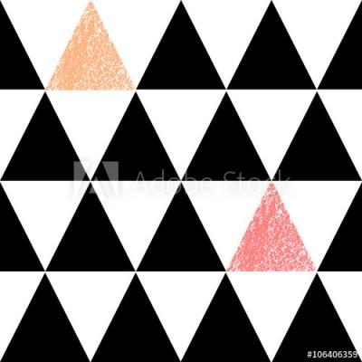 Fototapeta Abstrakcyjny geometryczny wzór (106406359)