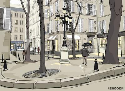 Fototapeta Plac w mieście (29650634)