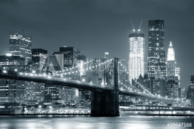 Fototapeta Most Brookliński w Nowym Jorku (39647168)
