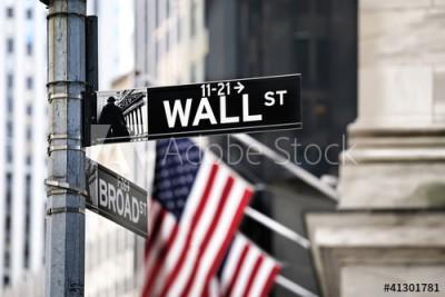 Fototapeta Znak Wall Street (41301781)