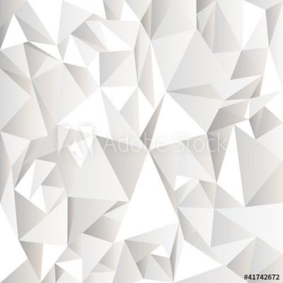 Fototapeta Białe zmięte abstrakcyjne tło (41742672)