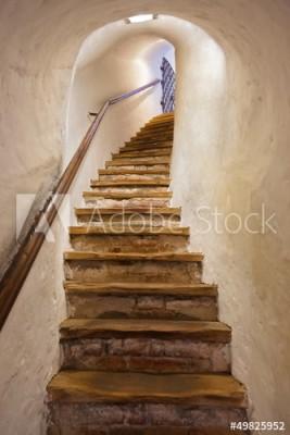 Fototapeta Schody w zamku Kufstein - Austria (49825952)