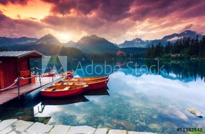 Fototapeta Piękne jezioro (51382848)