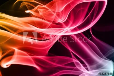 Fototapeta Wielobarwny dym 4 (52287955)