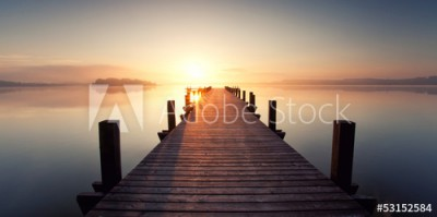 Fototapeta Cisza nad jeziorem (53152584)