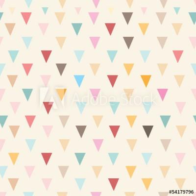 Fototapeta Abstrakcyjny wzór z trójkątami (54179796)