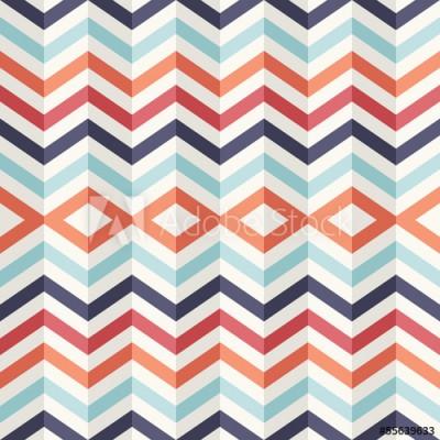 Fototapeta Niezwykły abstrakcyjny geometryczny wzór 3D (55639633)