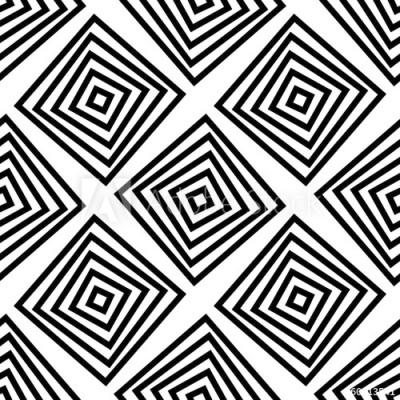 Fototapeta Hipnotyzujący geometryczny wzór (60013541)