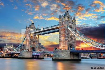 Fototapeta Most w Londynie (61816288)