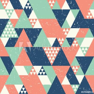 Fototapeta Kolorowe geometryczne wielokąty (67048913)