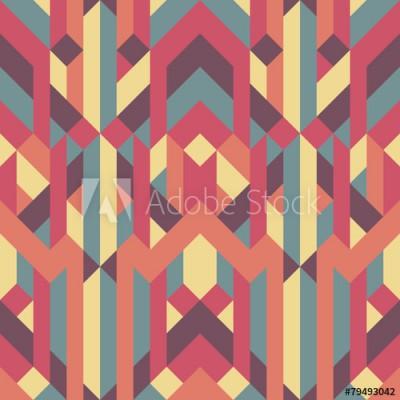 Fototapeta Kolorowy geometryczny wzór (79493042)