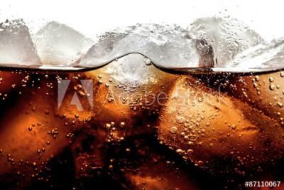 Fototapeta Cola z lodem (87110067)