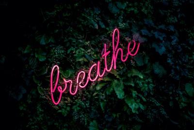 Plakat Breathe