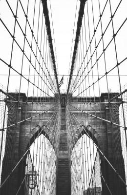 Plakat Most Brooklińsk