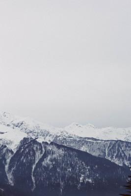 Plakat Surowy krajobraz górski